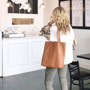 NWOT Around Town Tote - Brown